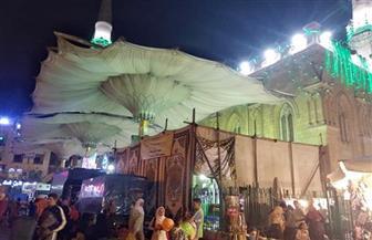 """220 ألف جنيه حصيلة مبيعات معرض """"الأعلى للشئون الإسلامية"""" للكتاب بالحسين"""