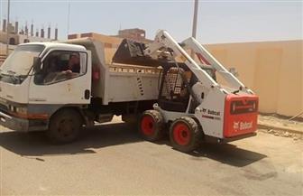 مدينة القصير تبدأ حملة نظافة لساحات صلاة عيد الفطر | صور