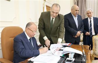 محافظ القاهرة يعتمد نتيجة الشهادة الإعدادية بنسبة نجاح 82%   صور