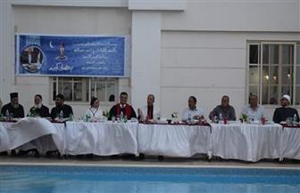 محافظ البحر الأحمر يشارك في حفل إفطار الوحدة الوطنية بالكنيسة الإنجيلية بالغردقة | صور