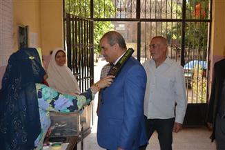 رئيس جامعة الأزهر يتفقد لجنة امتحانات الشهادة الثانوية الأزهرية بمعهد البساتين | صور