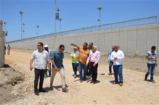 محافظ بورسعيد يشدد على الالتزام بالمخطط العام لأعمال تطوير المرحلة الثانية لمحور محمد علي | صور