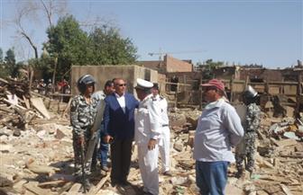 نائب محافظ القاهرة: إزالة أكثر من 600 عشة بترعة الطوارئ في السلام   صور