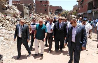 محافظ القاهرة: إزالة 66 مدبغة بسور مجرى العيون وقطع المرافق عن 21 أخرى | صور
