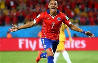 سانشيز يغادر المنتخب التشيلي إثر تعرضه لإصابة في الكاحل
