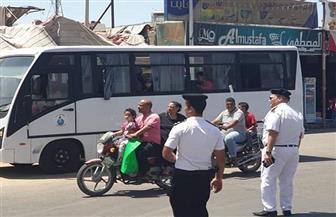 محافظ البحر الأحمر يخصص أتوبيسا لنقل المواطنين إلى الموقف الجديد بالمجان | صور