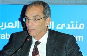 وزير الاتصالات من بيروت:  الإنسان المصري على رأس أولويات الدولة المصرية
