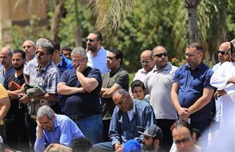 مجلس إدارة الأهلي يشارك في تشييع جنازة نورا حافظ لاعبة كرة اليد| صور
