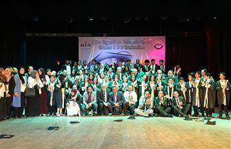 عرض مسرحية إيزيس في احتفالية مدارس النيل بقصر ثقافة قنا |صور
