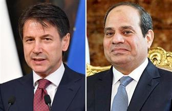 الرئيس السيسي يؤكد لرئيس وزراء إيطاليا دعم مصر للجهود الرامية للتوصل إلى تسوية سياسية للأزمة الليبية