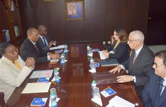 نائب وزير الخارجية للشئون الأفريقية يلتقي وزيرة خارجية كينيا