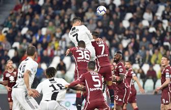 رونالدو ينقذ يوفنتوس من فخ الخسارة أمام تورينو في الدوري الإيطالي