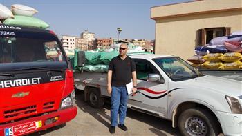 محافظ كفر الشيخ  يؤكد توريد 128 ألف طن أقماح للشون والصوامع | صور