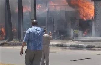 إخماد حريق فى رأس البر بدون خسائر بشرية | صور