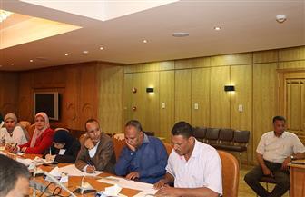 محافظ قنا يعقد اجتماعا لمتابعة موقف طلاء واجهات المنازل والتعديات على أملاك الدولة