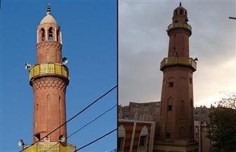 كان مغطى بأشجار السنط ..قصة إعادة بناء المسجد  العمري بمدينة  قفط في القرن التاسع عشر |صور