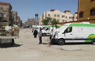 فحص 1300 مواطن في قافلة طبية بقرية شطا في دمياط | صور