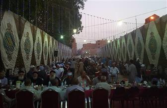 رجال الكنيسة يشاركون في إفطار جماعي بمركز شرطة كوم أمبو | صور