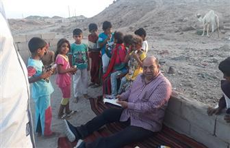 سكرتيرعام  جنوب سيناء ورئيس مدينة الطور يوزعان ملابس العيد لـ40 أسرة | صور