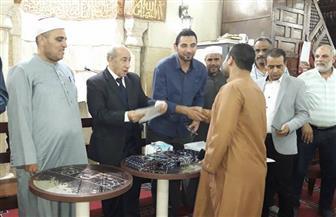 حزب الحرية المصري يكرم الفائزين فى مسابقة حفظ القرآن الكريم بالفيوم  | صور