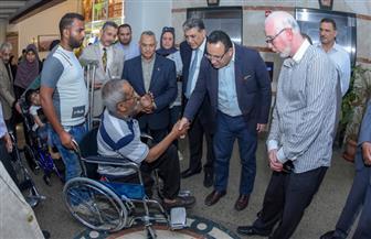 محافظ الإسكندرية يوزع 62 كرسي طبي على ذوي القدرات الخاصة | صور