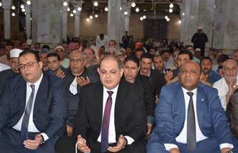 محافظ الغربية يشهد احتفالية الأوقاف بليلة القدر فى مسجد السيد البدوي بطنطا| صور