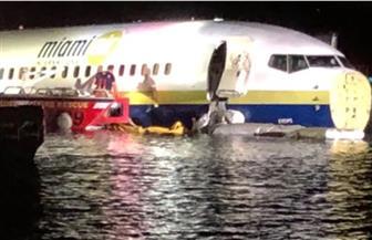 انزلاق طائرة بوينج 737 إلى  نهر بولاية فلوريدا الأمريكية