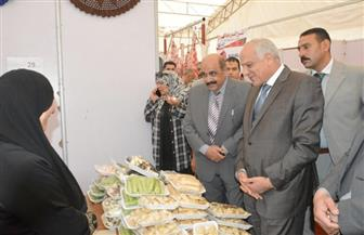 """افتتاح معرض """"أهلا رمضان"""" بساحة انتظار السيارات بجهاز مدينة 6 أكتوبر"""