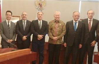 اجتماع وزير التجارة الإندونيسي ومجلسي الأعمال المصريالماليزي والإندونيسي لبحث فرص التعاون