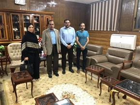عضو الأعمال المصري الكندي يتجه لإنشاء مصنع للتغليف بشمال سيناء |صور