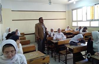 بدء امتحانات نهاية العام لصفوف النقل بمدارس محافظة كفرالشيخ | صور