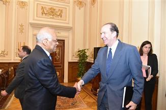 """""""عبدالعال"""" يستقبل رئيس مجموعة البنك الدولي.. ويؤكد له: المجلس لديه حزمة من القوانين التي تعزز الشفافية"""