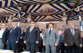 وزير الشباب يشهد ختام مهرجان الخيول العربية الأصيلة بطنطا | صور