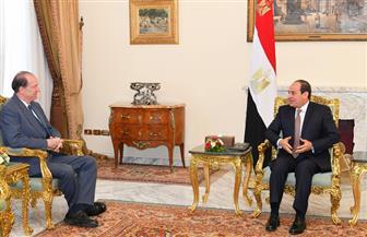 الرئيس السيسي: مصر تتطلع لاستمرار التعاون المثمر مع البنك الدولي لدعم الجهود التنموية