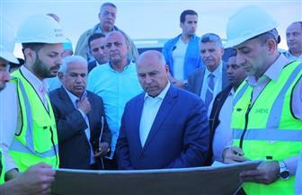 وزير النقل يتفقد بدء الأعمال المدنية لمشروع القطار المكهرب |صور
