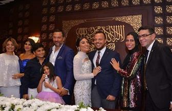 ماجد المصري يحتفل بعقد قران نجله  صور