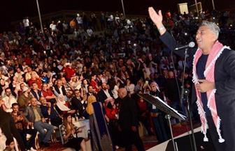 المطرب الأردني عمر العبد اللات: أحضر لأغنية وطنية للمشاركة في احتفالات أكتوبر بالقاهرة |صور