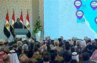 رئيس الوزراء: نفذنا 52 مشروعا سكنيا في إقليم قناة السويس وسيناء بتكلفة 54 مليار جنيه