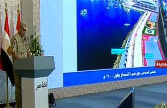 اللواء إيهاب الفار يستعرض جهود الهيئة الهندسية فى إنجاز المشروعات القومية بوسط سيناء والإسماعيلية
