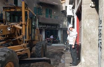 رئيس مدينة منيا القمح يقود حملة لنظافة الشوارع وإزالة الإشغالات بالشرقية| صور