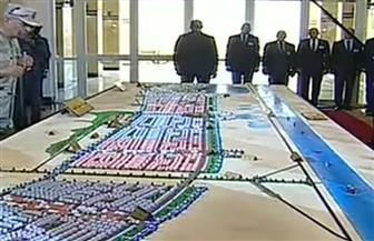 الرئيس السيسي يستمع لشرح توضيحي حول مشروع مدينة الإسماعيلية الجديدة