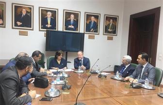 نائبة وزير الزراعة تبحث مع سفير أيرلندا سبل تعزيز أوجه التعاون بين البلدين