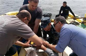 تثبيت جهاز لقياس الأمواج برأس التين في الإسكندرية | صور