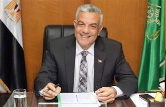 رئيس جامعة المنوفية يتفقد مدينة الأمل لاستقبال العائدين من الخارج