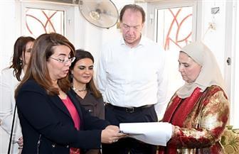 سحر نصر: الوزارة تعمل مع البنك الدولى لتوفير المنح اللازمة لدعم الأسر الأكثر احتياجا