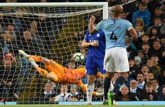 مانشستر سيتي يهزم ليستر ويقترب من الحفاظ على لقب الدوري الإنجليزي   صور