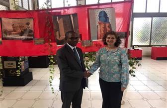 سفيرة مصر ببوروندي تناقش سبل التعاون مع رئيس اللجنة الوطنية المستقلة لحقوق الإنسان