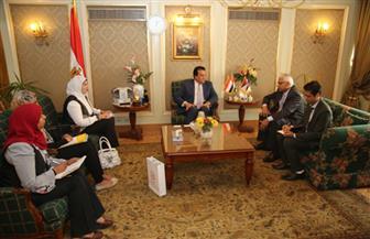 وزير التعليم العالي يستقبل سفير نيبال بالقاهرة   صور