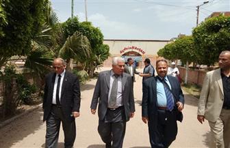 وكيل وزارة التعليم بالبحيرة يتابع القوافل التعليمية بمركز أبو حمص| صور