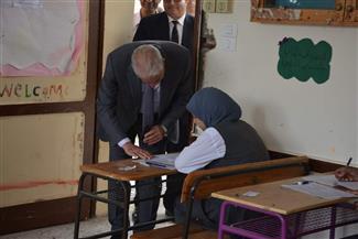 محافظ جنوب سيناء يتقفد سير امتحانات الصف الثاني الثانوي | صور